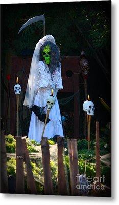 Zombie Bride Metal Print by Patrick Witz
