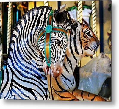 Zoo Animals 2 Metal Print by Marty Koch