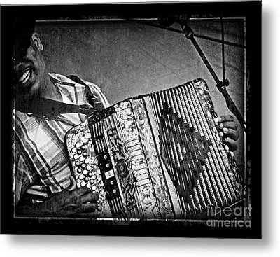 Zydeco Metal Print by Jeanne  Woods
