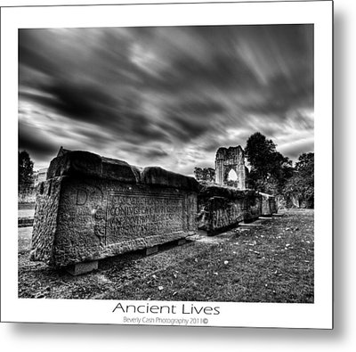 Metal Print featuring the photograph  Ancient Lives by Beverly Cash