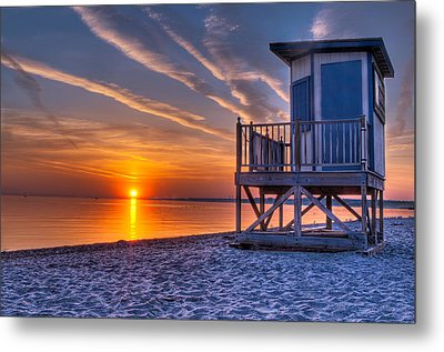 Anticipation Of Summer Metal Print by At Lands End Photography