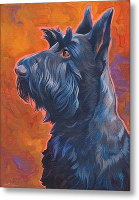 Beam Me Up Scottie Metal Print by Shawn Shea
