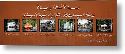 Camps Of The Atchafalaya Basin Metal Print