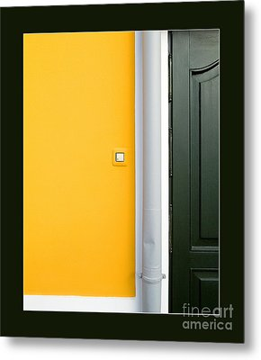 Door Metal Print by Odon Czintos
