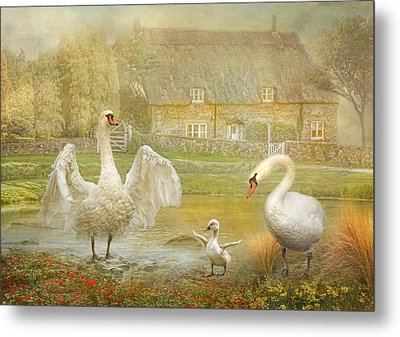 Early Preparations Metal Print by Trudi Simmonds