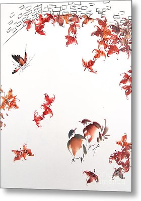 Fall Sensation Metal Print by Ming Yeung