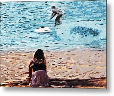 Freedom Metal Print by Tilly Williams
