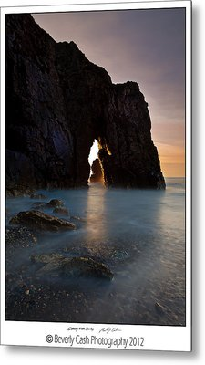 Gateway To The Sun Metal Print by Beverly Cash