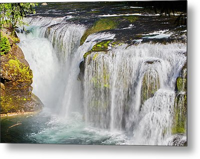 Lower Falls On The Upper Lewis River Metal Print