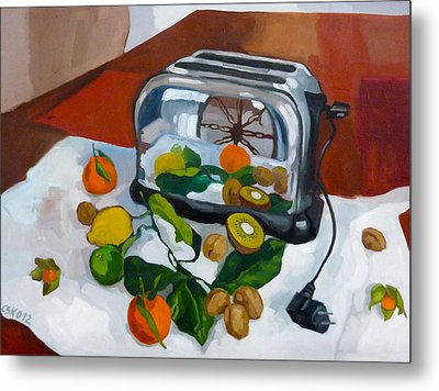 The Toaster Metal Print by Carmen Stanescu Kutzelnig