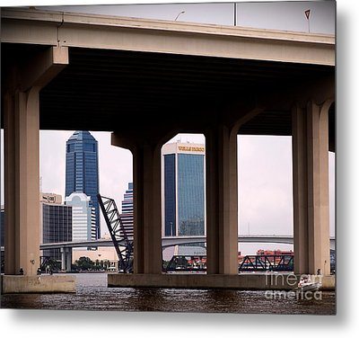 Welcome To Jacksonville Metal Print by Richard Burr