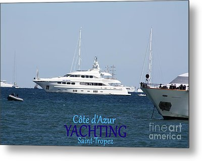 Yachting Metal Print