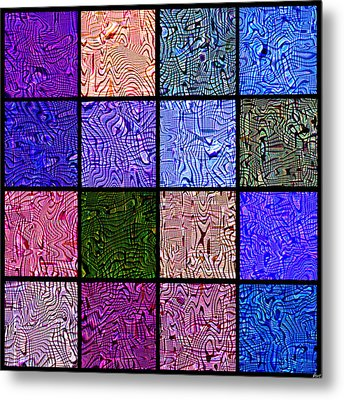 0663 Abstract Thought Metal Print by Chowdary V Arikatla