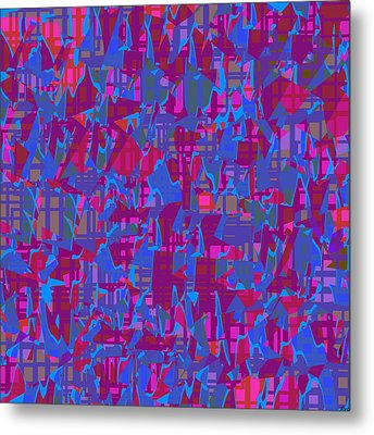 0671 Abstract Thought Metal Print by Chowdary V Arikatla