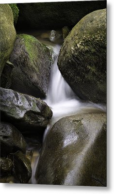 0706-0138 Smith Creek Rocks Metal Print