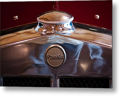 1929 Franklin Model 130 2-door Coupe Metal Print by David Patterson