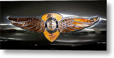 1933 Dodge Dp Rs 2 Door Coupe Metal Print by David Patterson