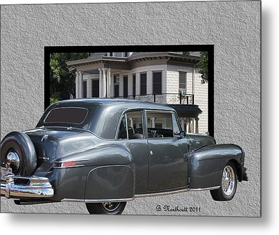 1947 Lincoln Continental Coupe Metal Print