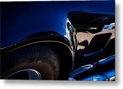 1966 Ford Ac Shelby Cobra 427 Metal Print by David Patterson