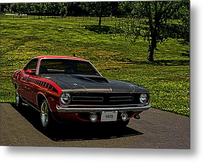 1970 Plymouth Barracuda Metal Print by Tim McCullough