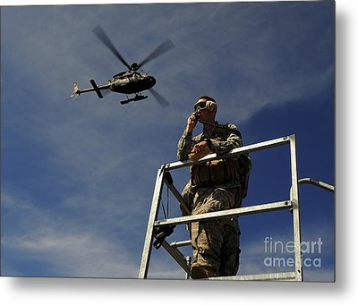 A Joint Terminal Attack Controller Metal Print by Stocktrek Images