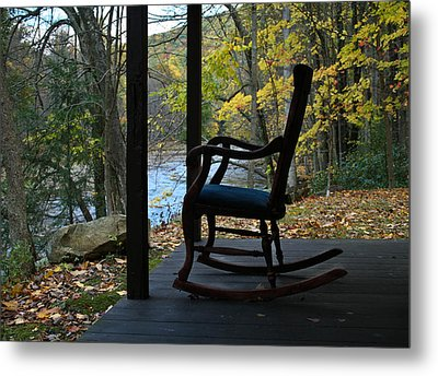 A Perfect Seat Metal Print by Cheryl Perin