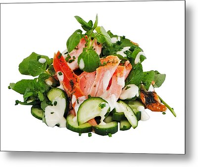A Summers' Diet Metal Print