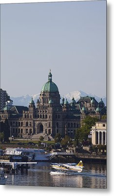 A View Of The Legislative Building Metal Print by Taylor S. Kennedy