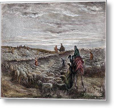 Abraham Entering Canaan Metal Print by Granger