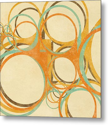 Abstract Circle Metal Print by Setsiri Silapasuwanchai