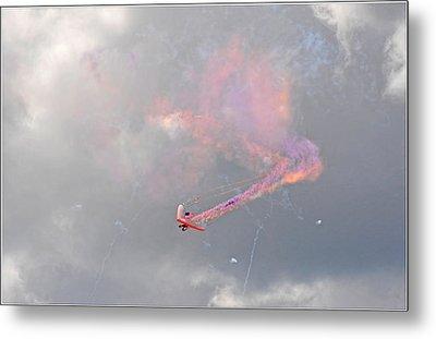 Aerobatics Metal Print