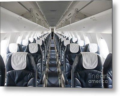 Airplane Seating Metal Print by Jaak Nilson