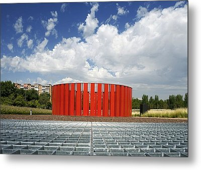 Alcorcon Arts Creation Centre Metal Print by Carlos Dominguez