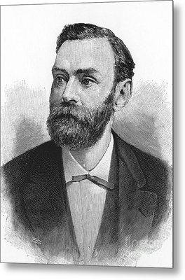 Alfred Nobel, Swedish Chemist Metal Print by Science Source