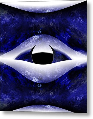 All Seeing Eye Metal Print by Christopher Gaston