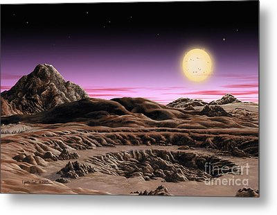 Alpha Centauri System Metal Print by Lynette Cook