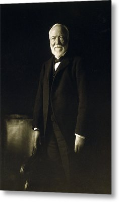 Andrew Carnegie, April 5, 1913 Metal Print by Everett