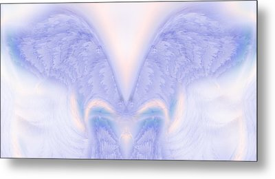 Angel Wings Metal Print by Christopher Gaston