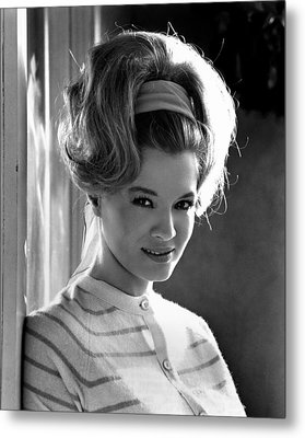 Angie Dickinson, Ca. 1966 Metal Print by Everett