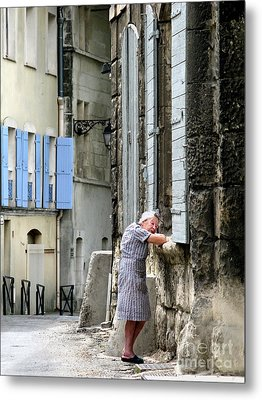 Metal Print featuring the photograph Another Nap.arles.france by Jennie Breeze