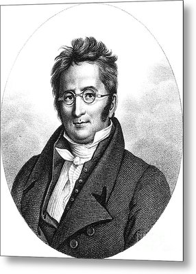 A.p. De Candolle, Swiss Botanist Metal Print by Science Source