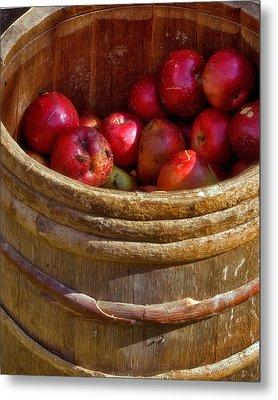 Apple Harvest Metal Print by Joann Vitali