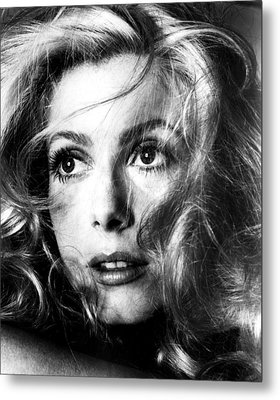 April Fools, Catherine Deneuve, 1969 Metal Print by Everett