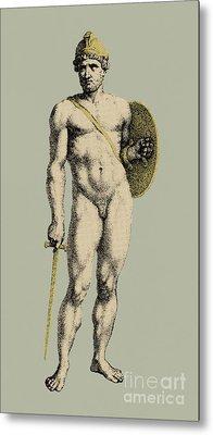 Ares, Greek God Of War Metal Print