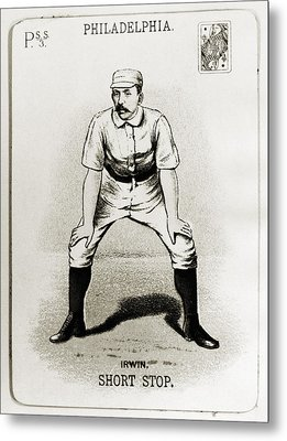 Arthur Irwin (1858-1921) Metal Print by Granger