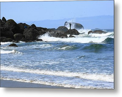 At Falcon Cove Metal Print