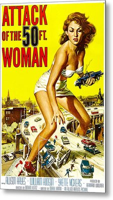 Attack Of The 50 Foot Woman, Allison Metal Print