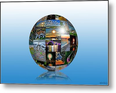 Attractions In Buffalo Ny And Surrounding Areas Metal Print by Michael Frank Jr