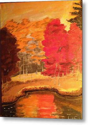 Autumn Metal Print by Brindha Naveen