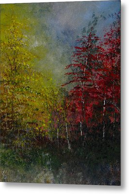 Autumn Sunshine Metal Print by Sherry Robinson